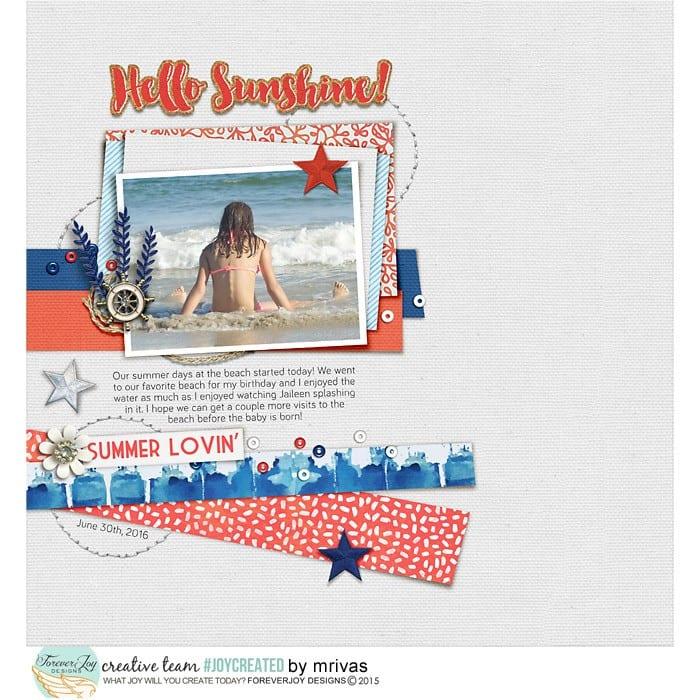Hello Sunshine web