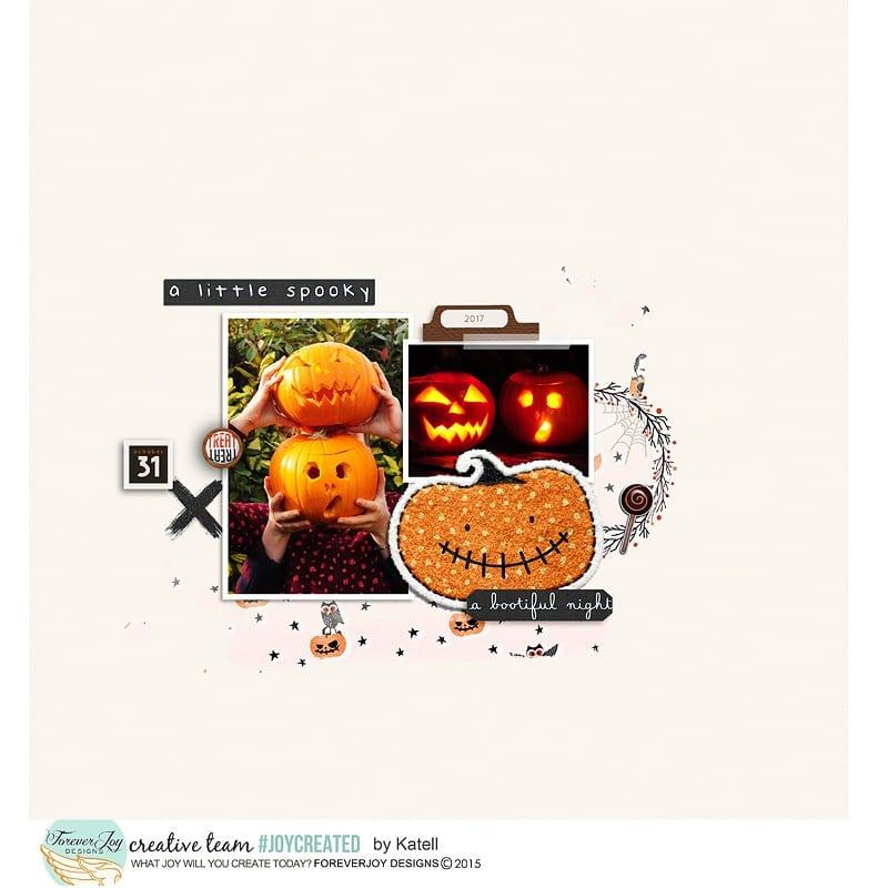 A little spooky