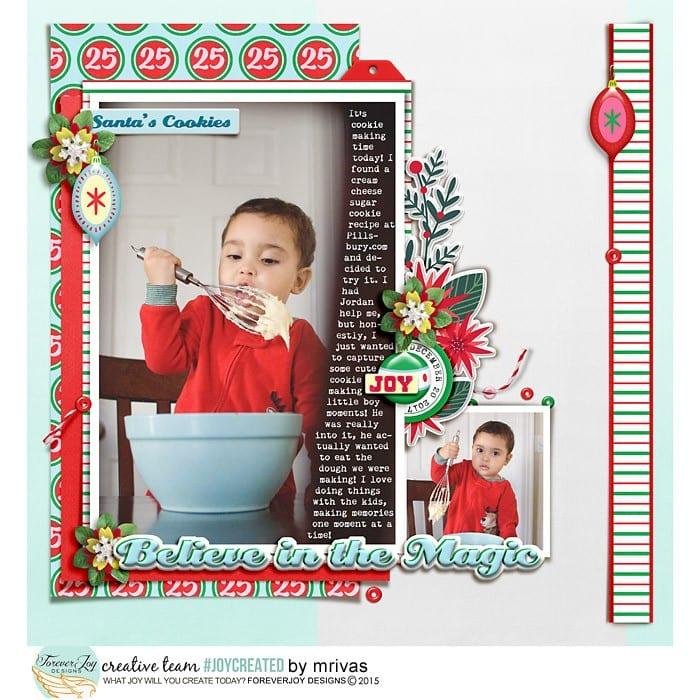 Santa's Cookies web